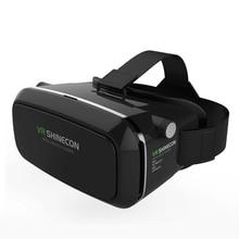 VR Shineconความจริงเสมือนแว่นตา3Dของg oogleกระดาษแข็ง3D VRแว่นตา3.5-6.0นิ้วมาร์ทโฟน+บลูทูธ3.0ระยะไกลควบคุม