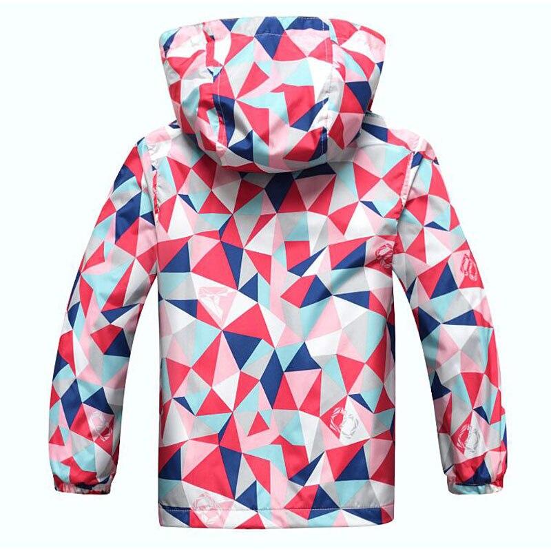 jaqueta impermeável ao ar livre roupas infantis