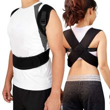 Upper Back Posture Corrector Adjustable Support Strap Unisex Adult Shoulder Correction Spine Shaper