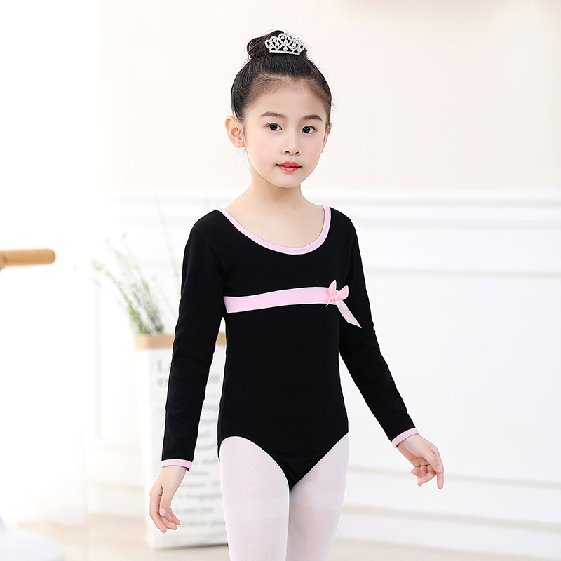 Dance Wear Girls Ballet Dress Athletic Dance Leotards Dress Ballet Gymnastics Leotards Acrobatics for Kids Clothes girl