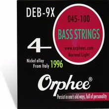Orphee DEB-9X High-BASS strings Nickel alloy string electric bass strings 4pcs/set Guitar accessories