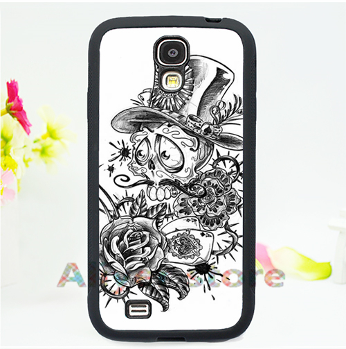 day of the dead skull coloring pages fashion cell phone case cover