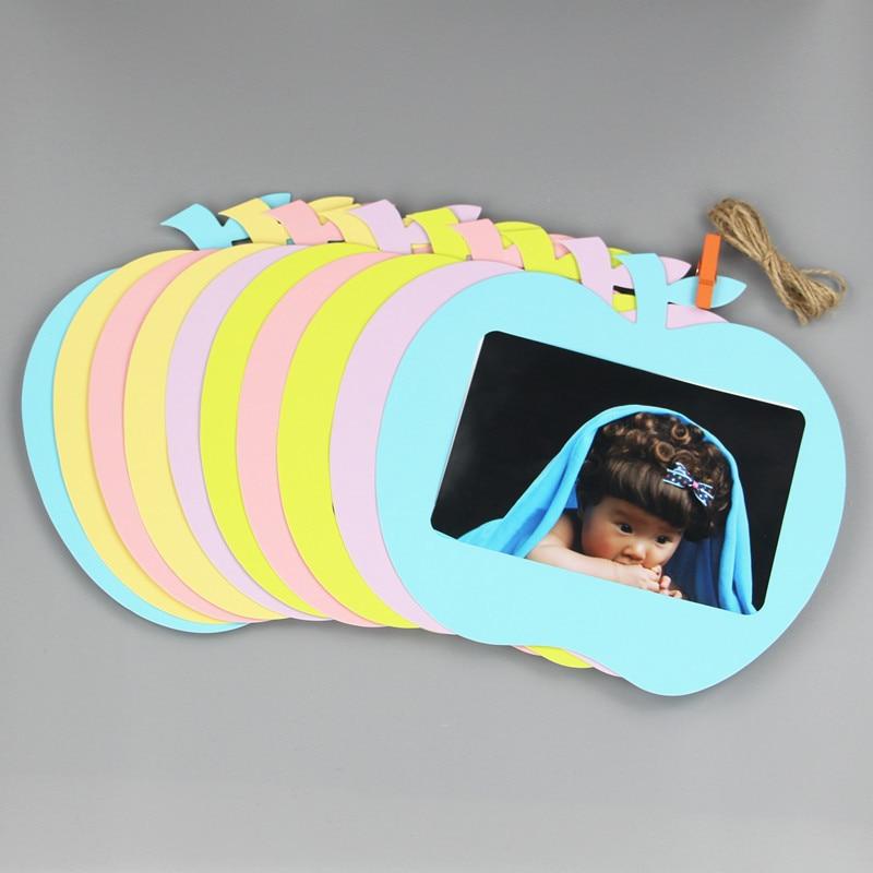 Baby Souvenirs Photo Frame Handprint Baby Photo (2)