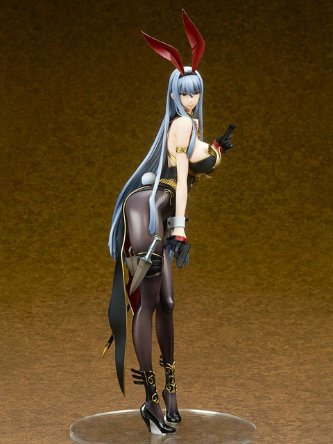 Ques Q Valkyria Chronicles Selvaria Bles Bunny Ver. PVC Action Figure Anime Sexy Girl Figure Model Toys Collection Doll Gift