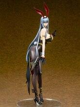 Ques Q Valkyria Chronicles Selvaria Bles Bunny Ver. ПВХ фигурка Аниме Сексуальная девушка модель игрушки коллекционная кукла подарок