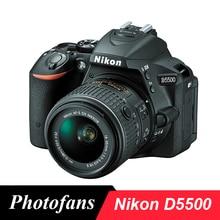 Nikon  D5500 DSLR Camera with 18-55mm Lens -24.2MP DX-Format -3.2