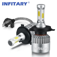 H4 LED H7 H11 H1 H13 H3 9004 9005 9006 9007 COB LED Car Headlight Bulb