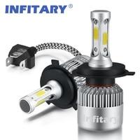H4 LED H7 H11 H1 H13 H3 9004 9005 9006 9007 COB LED Car Headlight Bulb