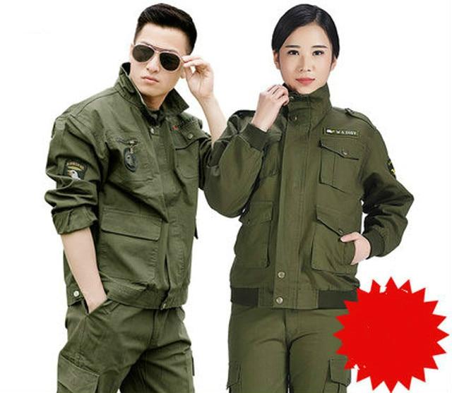 Hommes d'été À Manches Longues Tactique Camouflage Uniforme Femmes Uniforme Militaire Armée Formation Ensembles Militar CS Multicam Vêtements 90
