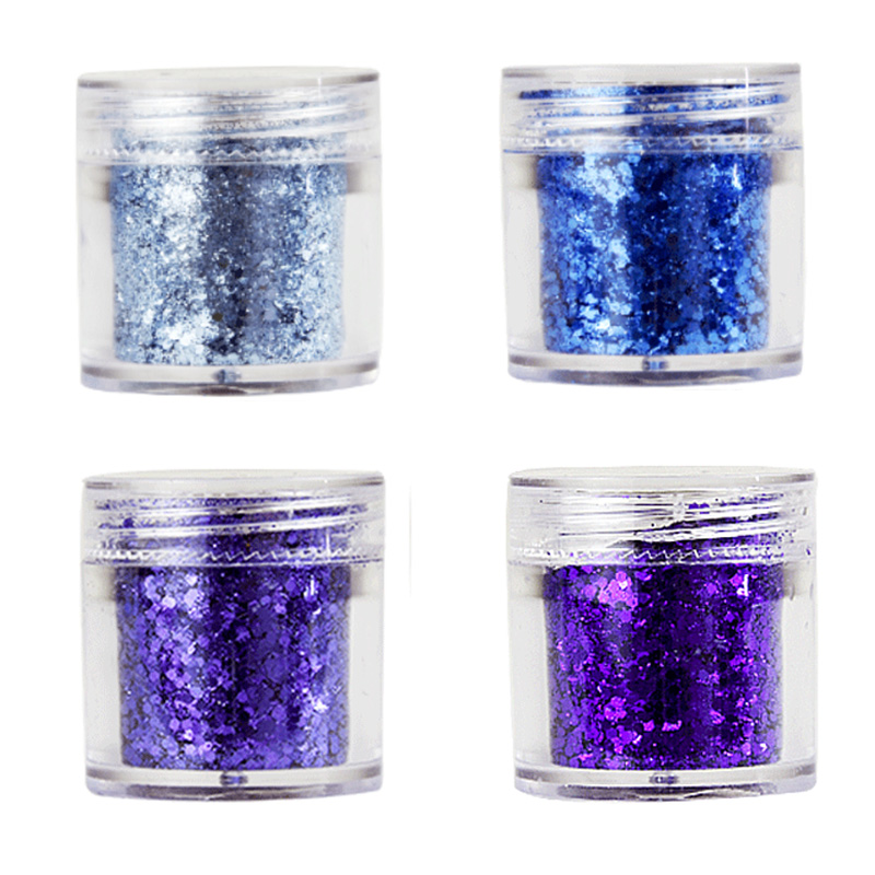 1-2MM Nail Mermaid Iridescent Purple Blue