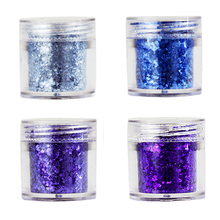 1-2MM Nail Mermaid Iridescent Purple Blue Glitter~Mix Chunky Glitter~Iridescent Glitter Spangles For Nagels Spulletjes MA0329-32 tct 077 christmas glitter white color with purple red light iridescent mix shape mix size for nail glitter makeup facepaint diy