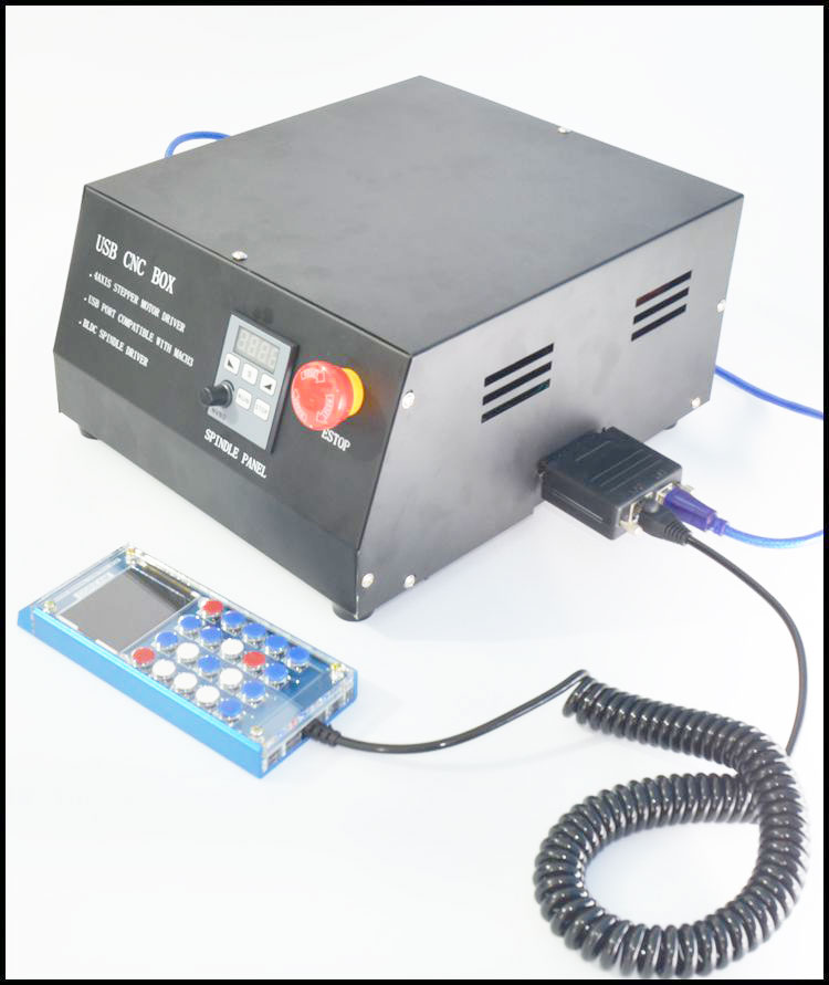Electrical Equipment Usb Cnc Box Four Axis Stepper Motor Driver Usb Port Suitable With Mach3