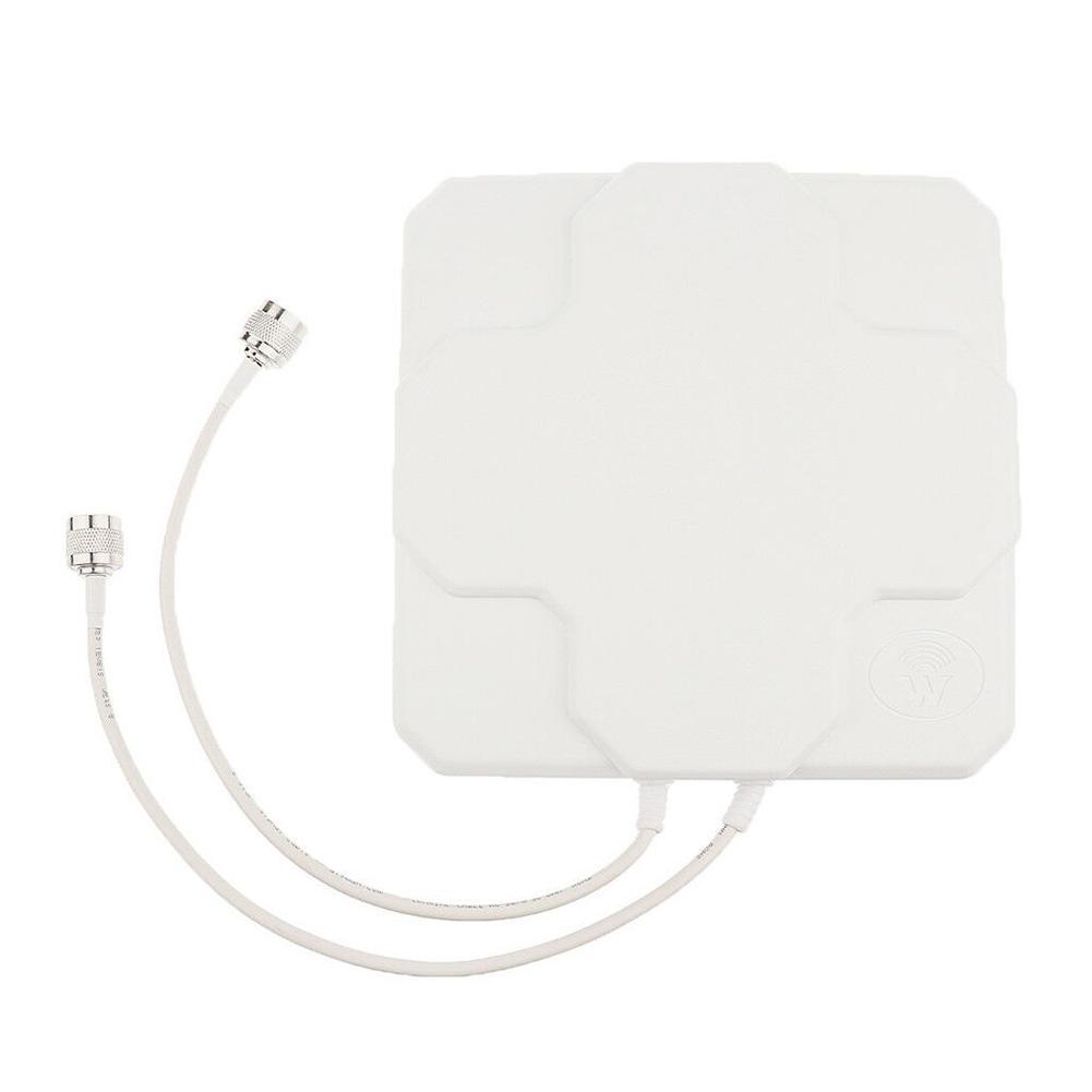 18dbi 4G LTE SMA N mâle antenne sans fil extérieure panneau amplificateur de Signal aérien