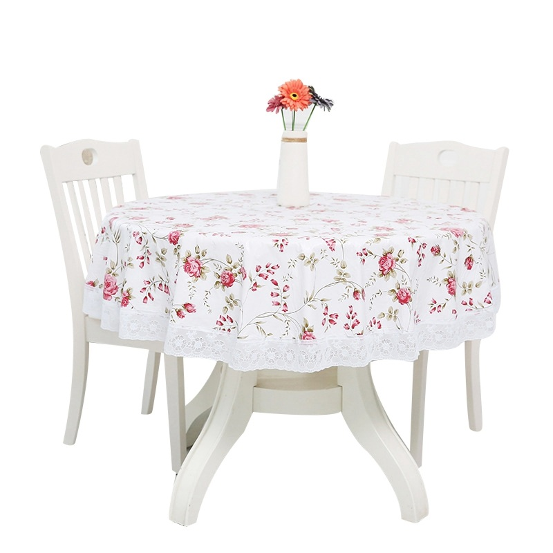 Tablecloth Table Cloth for Wedding Round Restaurant Tablecloth Tablecloth for Party Banquet Table Cloth Home Decorations