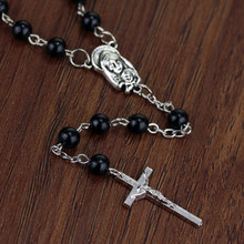 Jóias de filme o vampiro diários klaus joseph morgan colar y design jesus cruz pingente para homens presente
