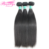Brazilian Virgin Hair Straight Human Hair 3 Bundles 8 Inches To 34 Inches Unprocessed Human Hair