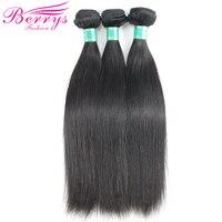 Brazilian Virgin Hair Straight Human Hair 3 Bundles 8 Inches To 34 Inches Unprocessed Human Hair
