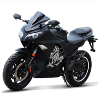 3000W Adult Electric Motorcycle Citycoco Electric scooter Double Seat 72V Electric bicycle LED Headlights Electric Motorcycles