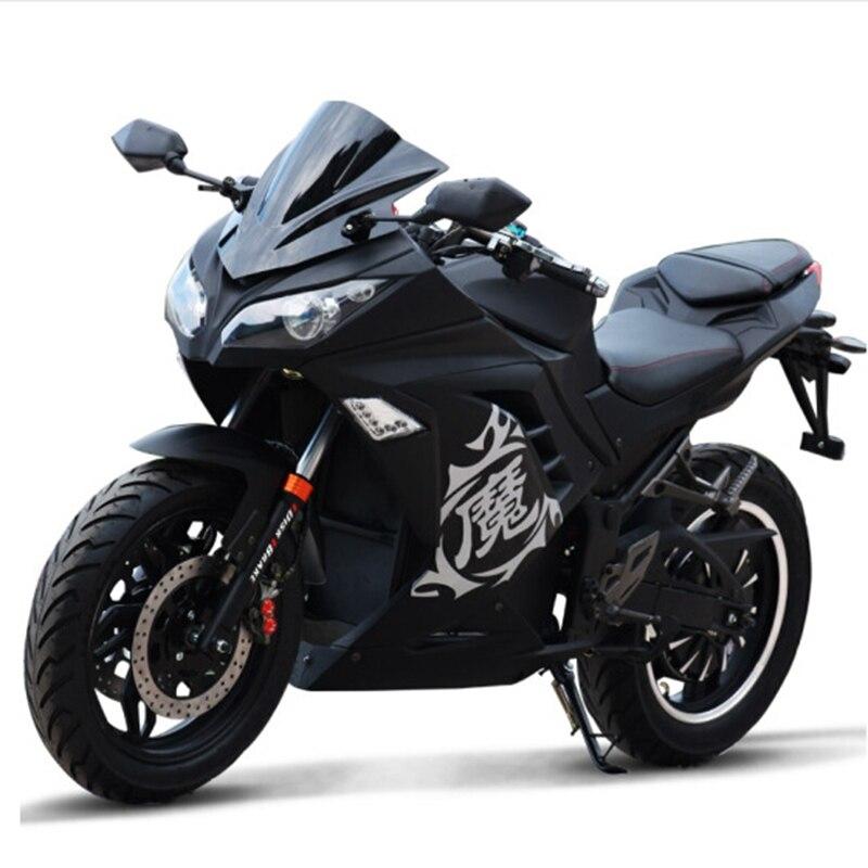 3000 W adulte moto électrique Citycoco scooter électrique Double siège 72 V vélo électrique LED phares motos électriques