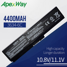 4400mAh laptop battery for Toshiba Satellite C670D L310 L510