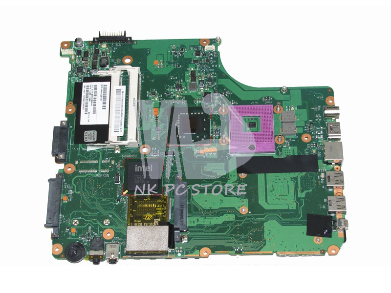 цена V000125430 Main Board For Toshiba Satellite A300 A305 Laptop Motherboard GM965 DDR2 Free CPU