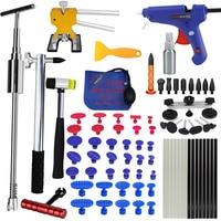 PDR Tools ferramentas Paintless Dent Repair Tools Dent Removal Tools Dent Puller LED Lamp Reflector Board Hand Tool Set PDR Kit