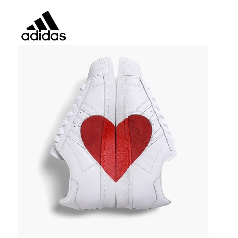 Original New Arrival Official Adidas Superstar Men's & Women's Low-top Skateboarding Shoes Outdoor Sneakers Comfortable CQ3009 original new arrival 2016 adidas men s basketball shoes low top sneakers