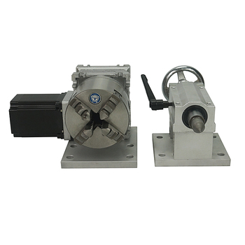 4 jaw rotary axis with tailstock for cnc milling drilling machine 4 jaw rotary axis with tailstock for cnc milling drilling machine