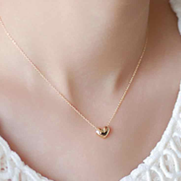 New vintage gold color necklace chain jewelery fashion necklaces for women triangle tassel necklace tassels neckless