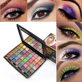 High Quanlity New Arrival 48 Mixed Color 3D powder Makeup Cosmetic shimmer Matte Eyeshadow Palette brush #84367