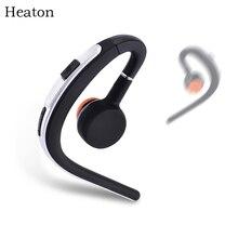 Heaton V4.1 Escritório Sem Fio Bluetooth Fones De Ouvido Bluetooth Música Earbud Fone de Ouvido Fones de Ouvido com Microfone Controle de Voz Frete Grátis