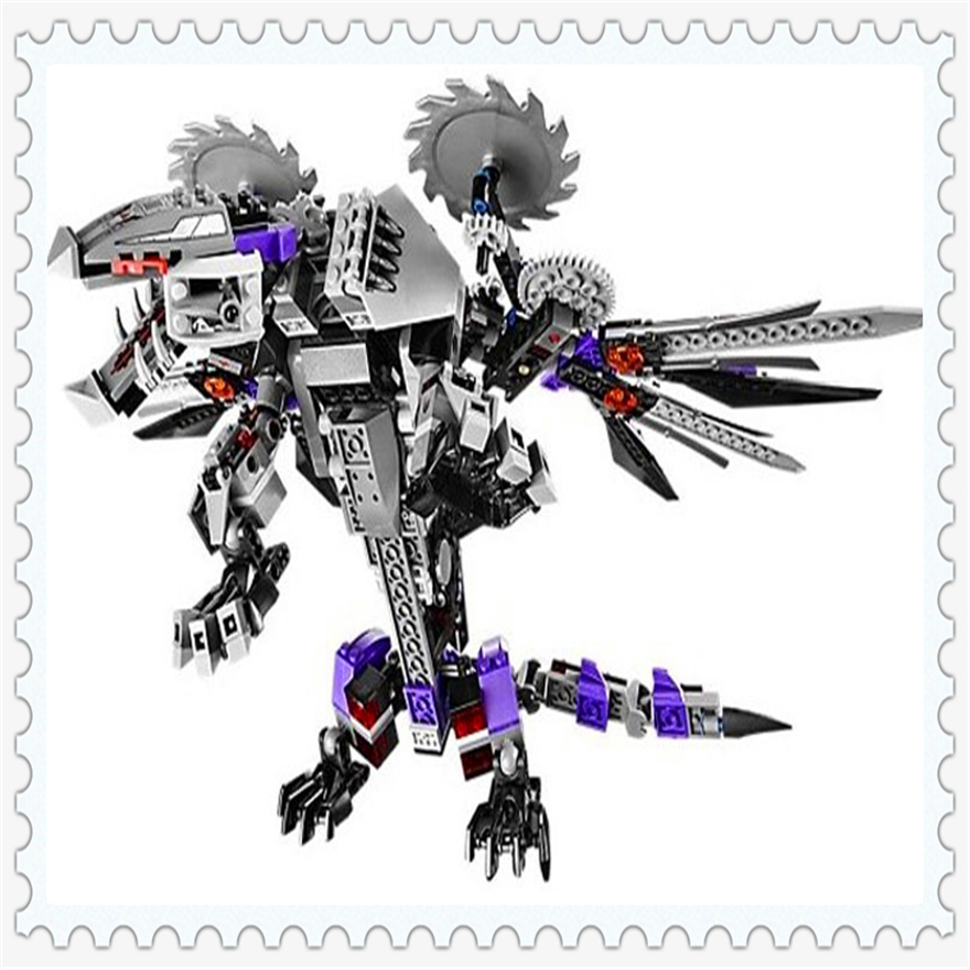 690Pcs Ninja Nindroid Mech Dragon Model Building Block Toys Enlighten 10224 Figure Gift For Children Compatible Legoe decool 3117 city creator 3 in 1 vacation getaways model building blocks enlighten diy figure toys for children compatible legoe