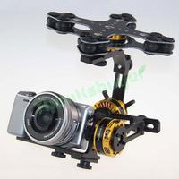 DYS Aluminium Alloy 3 Axis Brushless Gimbal Camera PTZ Kit 3pcs Motor For Sony NEX ILDC