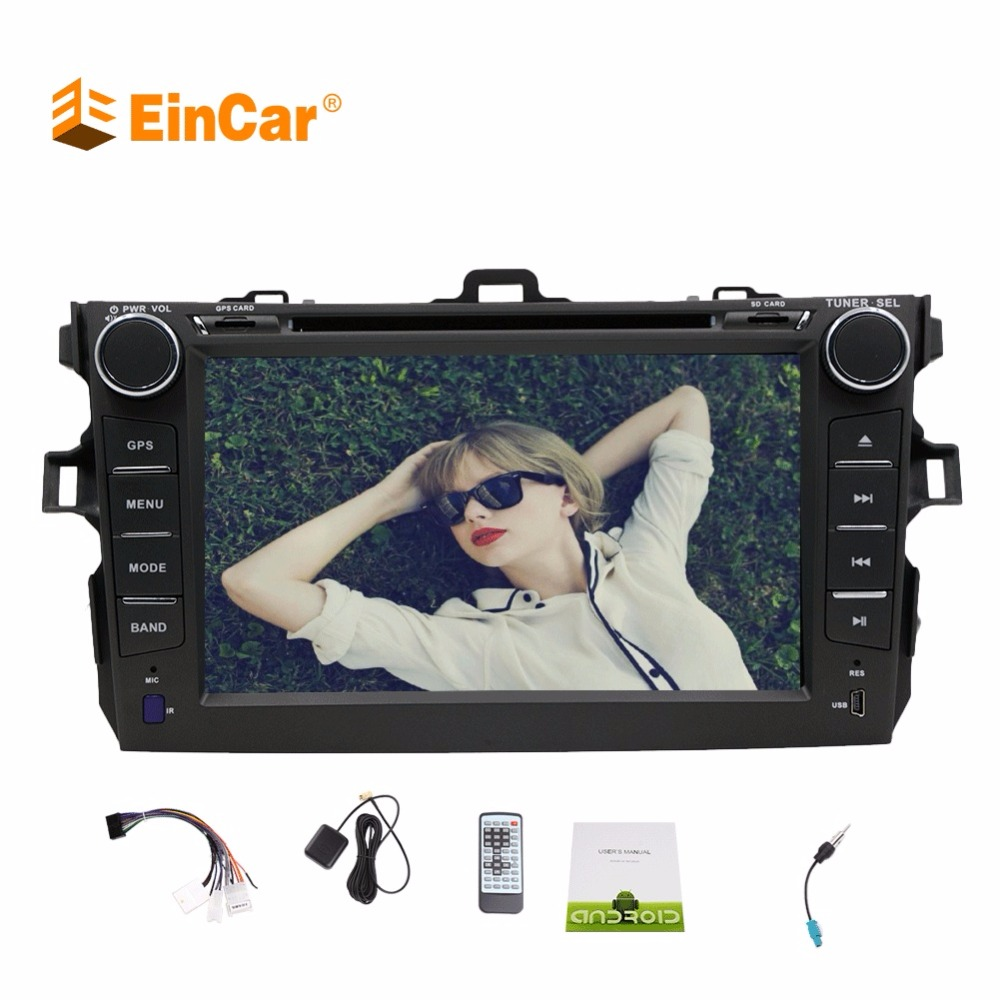 Android 7.1 Car Stereo For TOYOTA Corolla (support year 2007 2008 2009 2010 2011 2012 2013) 7 inch In-dash CAR DVD Player GPS 6pcs for toyota corolla 2003 2008 2009 2010 2011 2012 2013 car led 12v parking led interior light bar kit