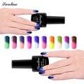 Saroline Temperatura Thermo Mood Cambio de Color de Esmalte de Uñas Camaleón empapa del LED UV Laca Gel de Barniz de uñas de arte