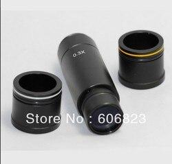 Mikroskopowa kamera 0 3x soczewka redukcyjna  okular C adapter do montażu obiektywu 23.2mm 30mm 30.5mm adapter w Mikroskopy od Narzędzia na