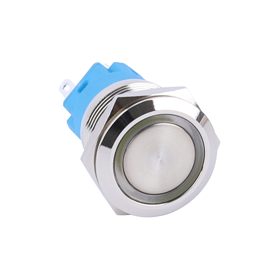 19mm 2 Position 12V Angel Eye LED Waterproof Stainless Selector Switch ON//OFF