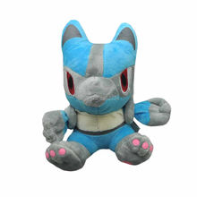 "10/Lot Riolu 7 ""figurine en peluche(China)"