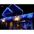 UE 4 M 20 LED Sincelo Luzes de Natal Forma Guirlande Lumineuse Luz Fada String Xmas Decoração Luzes De Natal Ao Ar Livre Levou