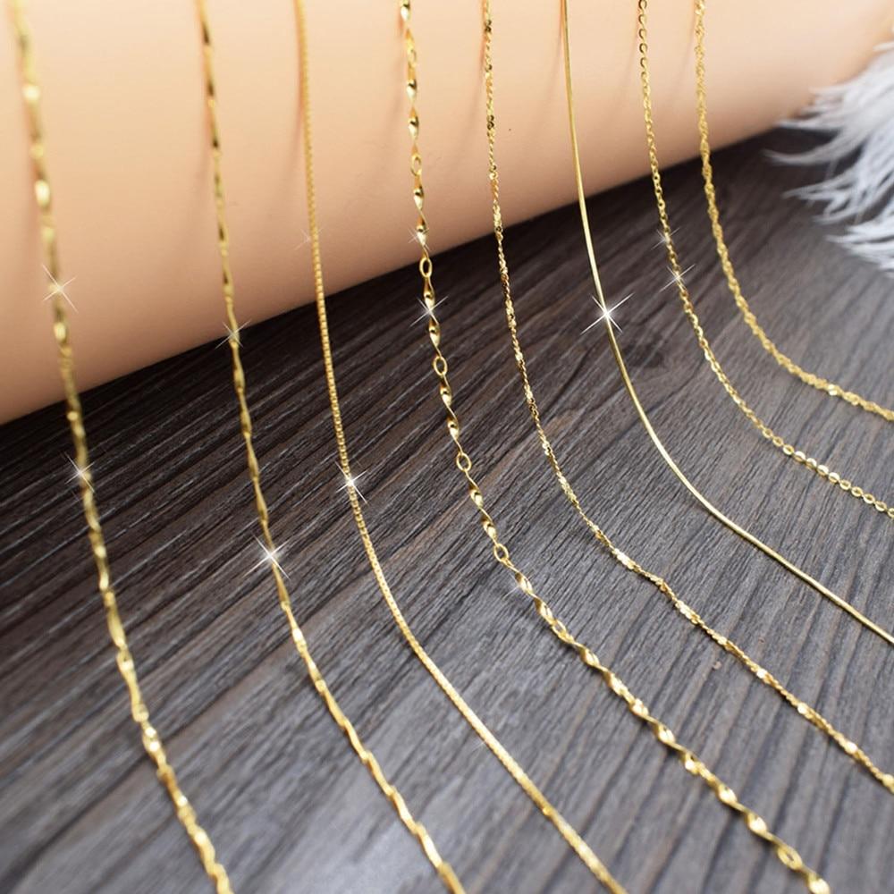 Nehzy damenmode schmuck kette halskette kurze halskette zubehör - Modeschmuck - Foto 3