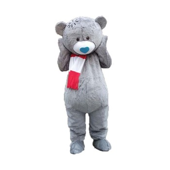 Osito de peluche para una boda, disfraces de Mascota, oso de peluche, muñeco de cola, disfraces de cosplay para fiesta Carival de Halloween, evento