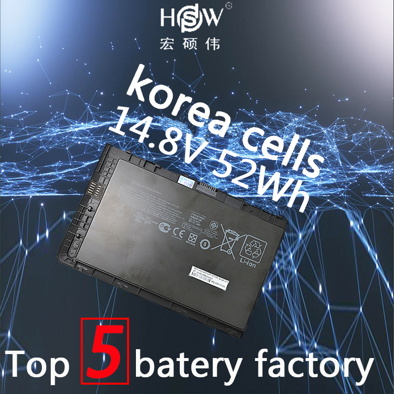 14.8V 52Wh BA04XL battery for HP EliteBook Folio 9470 9470m 687517-171 687517-241 687945-001 Ba06 Bt04 Bt04xl  batteria akku