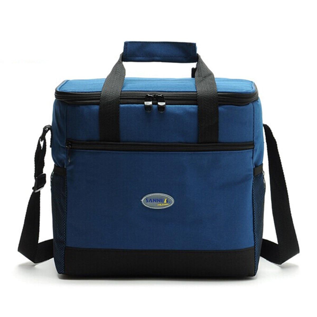 Waterproof Insulated Cooler Bag Baby Diaper Mlik Bottles Food Supplement Insulation Bag Outdoor Camping Picnic Shoulder Hand Bag