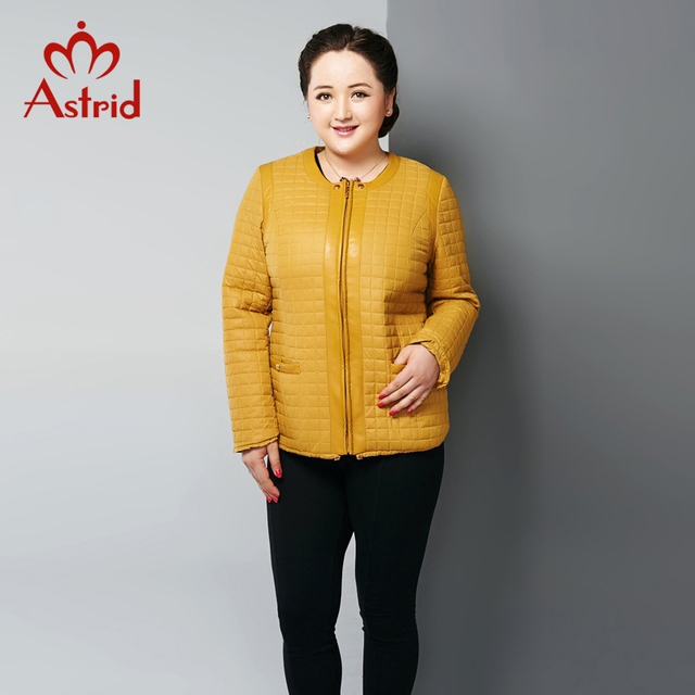 2016 Astrid New High-Quality Women Jacket Autumn and Winter Coat Plus Size Jacket Fashion Women L-5XL AM-1590 Clearance Sale