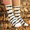 Caramella calcetines de marca al por mayor, invierno 2014 nueva jacquard calcetines de las mujeres, casual de las señoras de moda de los pares de calcetines Envío Libre