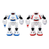 JJRC RC Robot Cady Will Intelligent Program Touch Gesture Sensor Auto Display Missile Launch Combat Singing Dance Xmas Gift Toys
