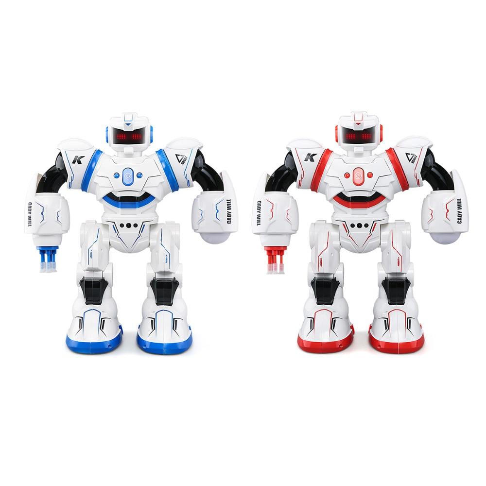JJRC RC Robot Cady programme Intelligent capteur de geste tactile affichage automatique Missile lancement Combat chant danse noël cadeau jouets