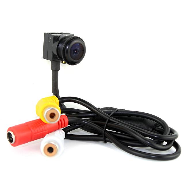 SMTKEY 700TVL color video camera wide angle View Small Mini camera 140 degree fish eye lens micro mini security camera