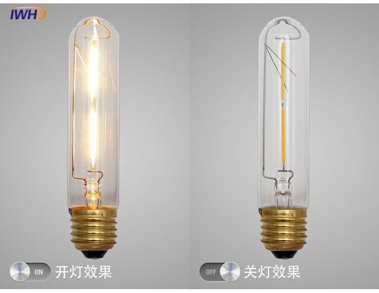 Retro Lampen Led : Iwhd test tube led edison bulb light vintage retro lamp bulb