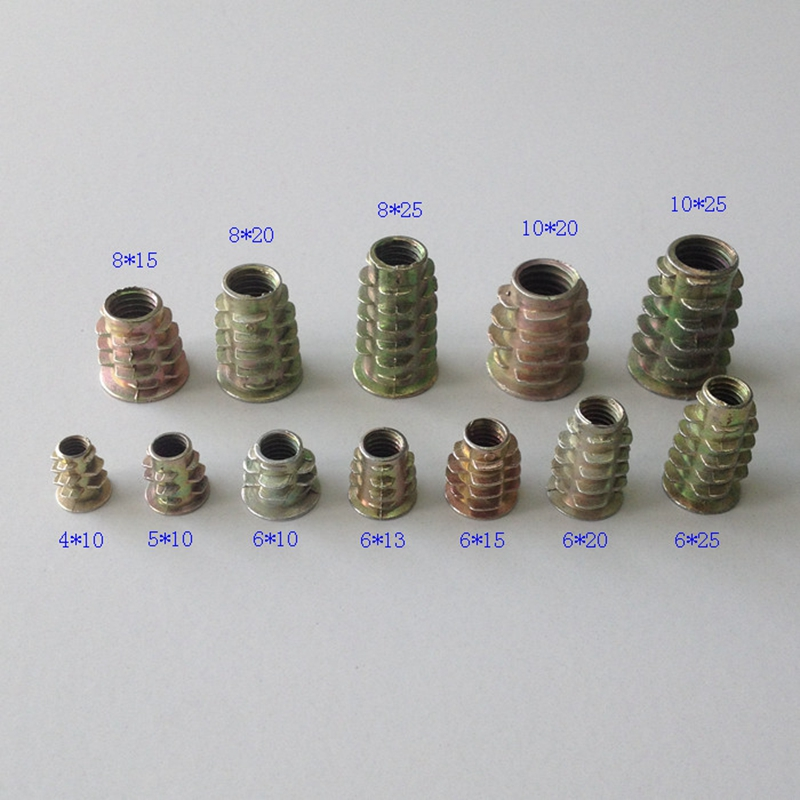 M4 M5 M6 M8 M10 мебель орехи цинковый сплав цвет покрытия